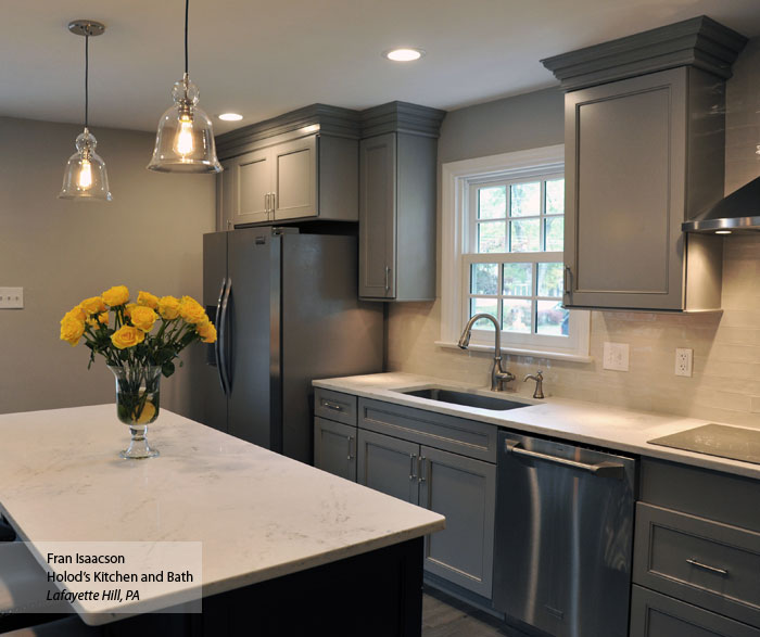 Cloud Cabinet Paint On Maple Schrock Cabinetry